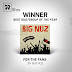 "Group / Duo of the Year Award goes to Big Nuz for their album ""For the Fans"" ‪#‎SAMA22‬"