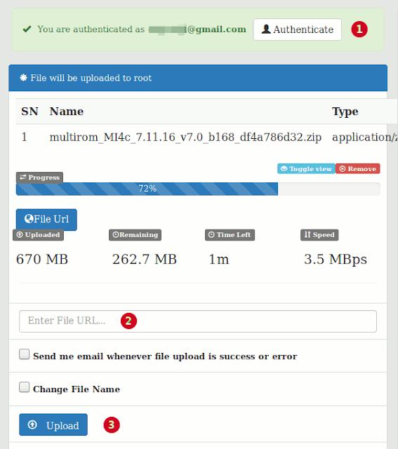 Tampilan savetodrive.net