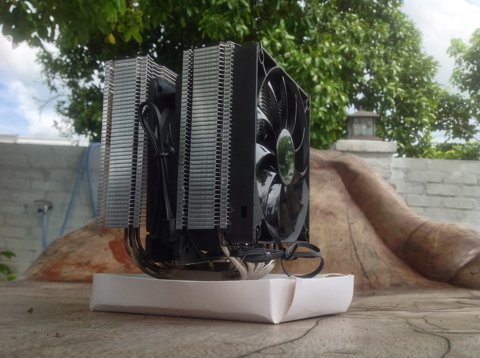 Gelid Solutions The Black Edition CPU Cooler Review 7