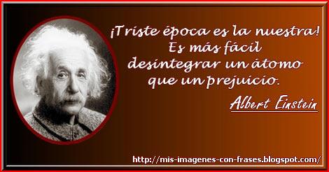 Albert Einstein Prejuicios Mis Imágenes Con Frases