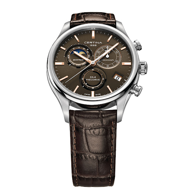 Certina Chronographe DS-8 Phase de Lune Watch