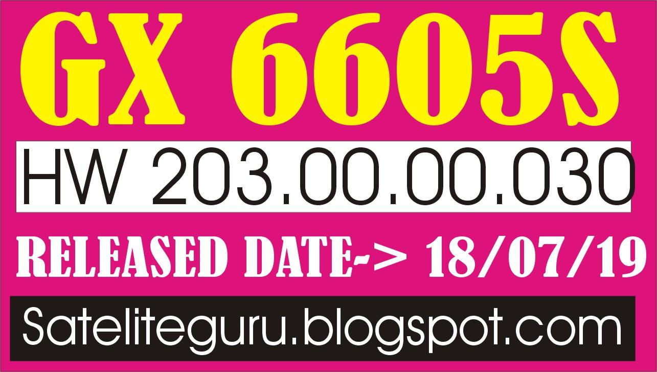 GX 6605S HW 203 00 030 TEN SPORTS AND CCCAM OK NEW POWER VU