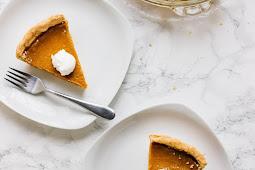 Vegan Pumpkin Pie – Gluten Free