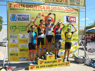 Picuienses brilham 3ª volta ciclística do Seridó/Curimataú