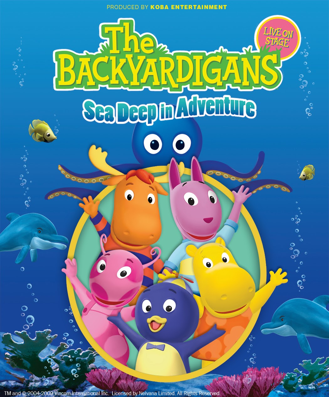 Win Tickets To See The Backyardigans Live!