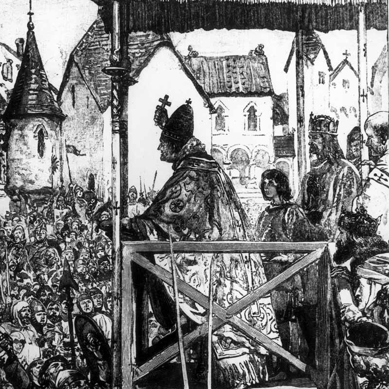 how pope urban incited the christians at clermont essay Crusades and pope urban history essay the christian crusades occurred around the 11th and at the council of clermont, pope urban ll made a powerful.