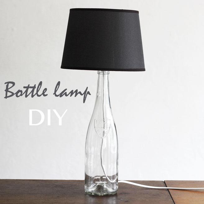 la reines blog mit flaschen basteln der selbstgemachte lampenschirm. Black Bedroom Furniture Sets. Home Design Ideas