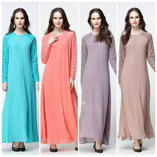 dress muslimah terkini 2018