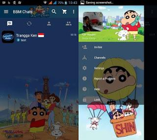 BBM ShinChan V2.12.0.11 Apk Terbaru