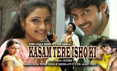 Poster Of Kasam Tere Ishq Ki (2006) Full Movie Hindi Dubbed Free Download Watch Online At worldfree4u.com
