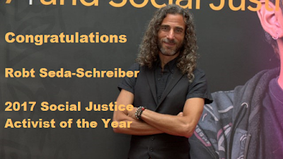 Robt Seda-Schreiber, Social Justice of the Year!