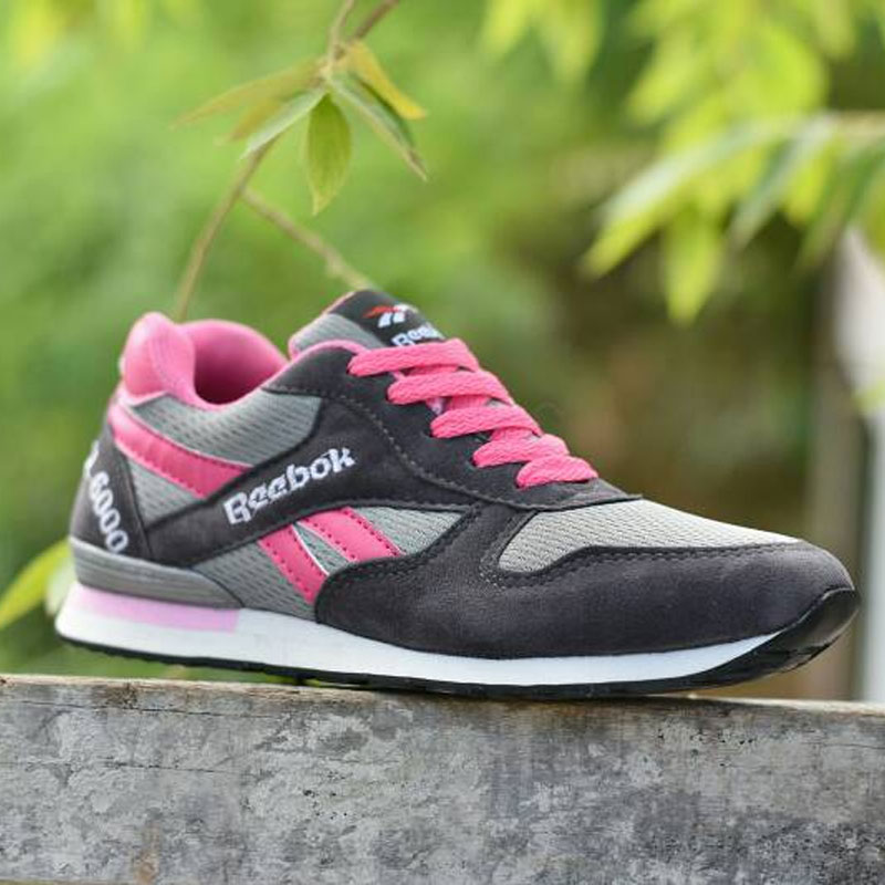 Sepatu Olahraga Reebok GL6000  SR-004  Abu Pink  b9be663327