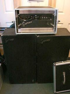canadian vintage guitar hunt garnet rebel b90 vintage 1973 amplifier head cabinets. Black Bedroom Furniture Sets. Home Design Ideas