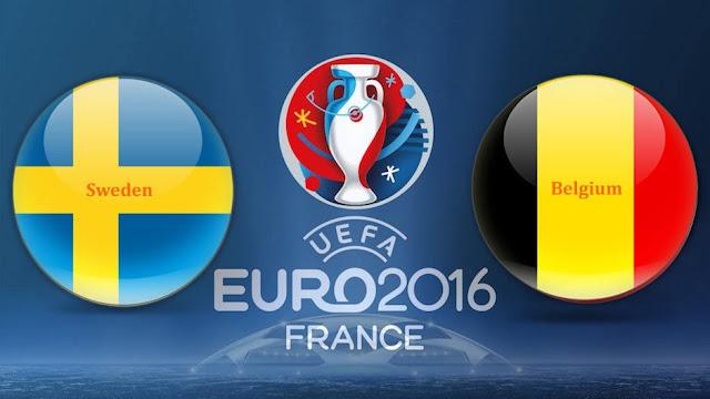 LIVE SCORE EURO: Hasil Swedia vs Belgia Prediksi Skor dan Jadwal Piala Eropa 2016 RCTI