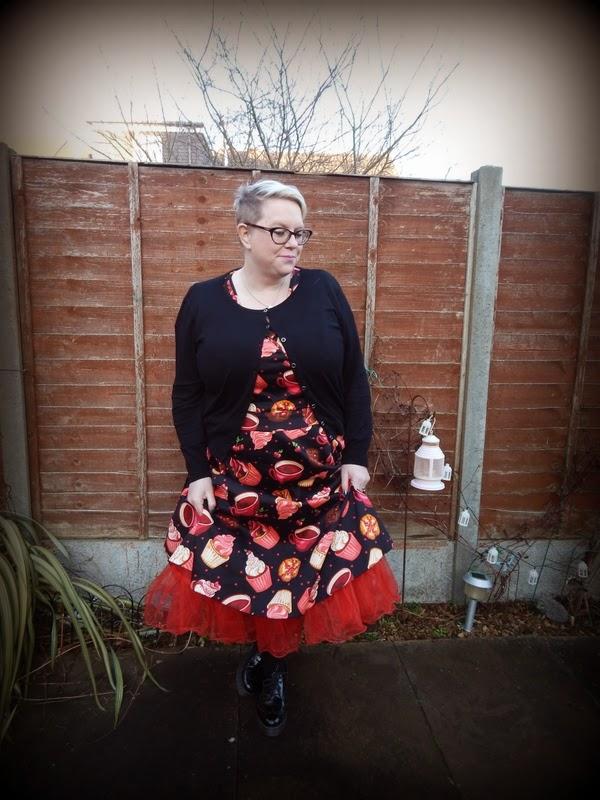 Lady Vintage London, Estella Dress, Size 22, Blonde, BBW