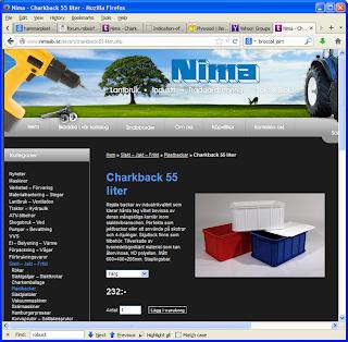 Charkback säljs av Nima