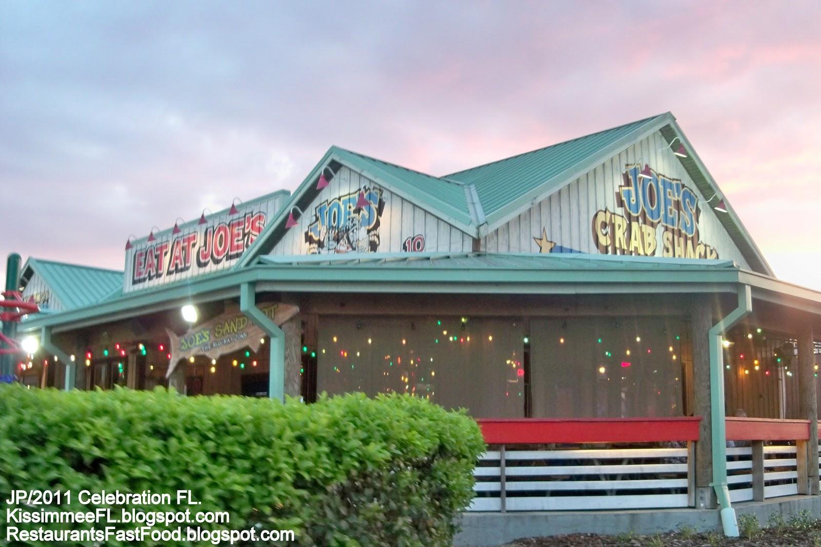 Joe S Crab Shack Kissimmee Celebration Florida Seafood Restaurant Fl