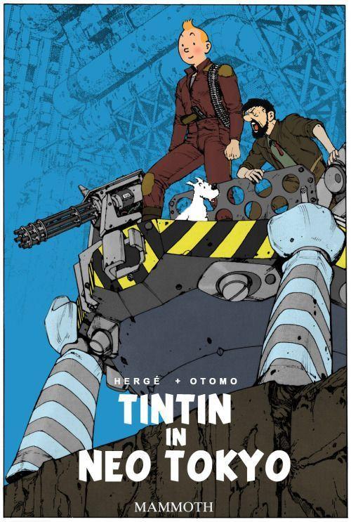Tintin in Neo Tokyo - Tintin vs. Akira