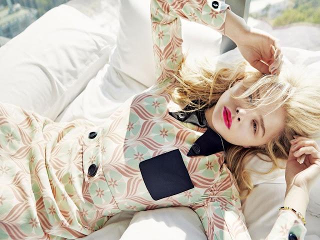 Hollywood actress  Chloe Moretz Beautiful Wallpapers