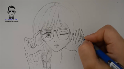 تعلم رسم انمي