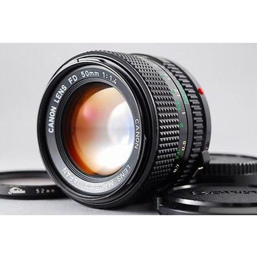Lens Canon FDn 50f1.4