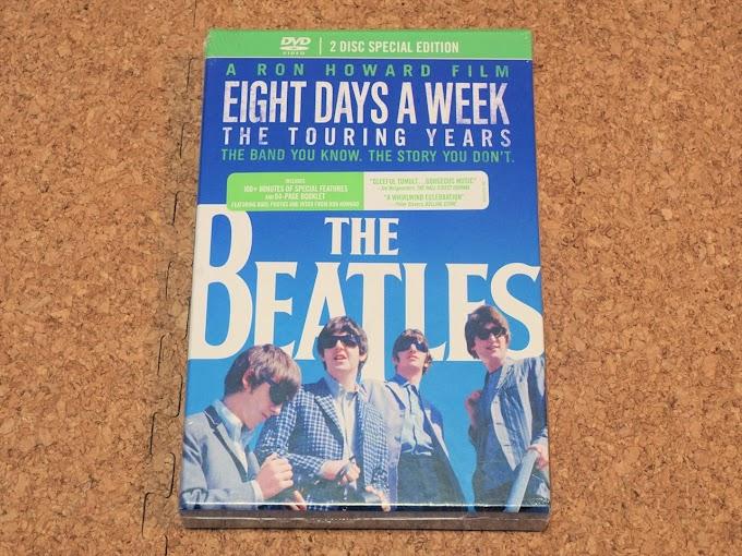 レビュー:2枚組DVD「The Beatles: Eight Days A Week – The Touring Years」Deluxe Collector's Edition(輸入盤)