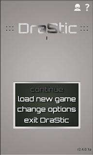 DraStic ialah sebuah emulator Nintendo DS yang cepat untuk android dan PC Unduh Game Android Gratis DraStic emulator NDS