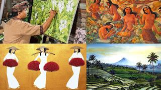 Batuan Art Painting Village | Sunia bali Tour