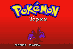 pokemon topaz cover