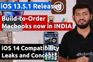 iOS 14 iPhone Compatibility Leaks & Customize Macbooks in INDIA (தமிழில்)