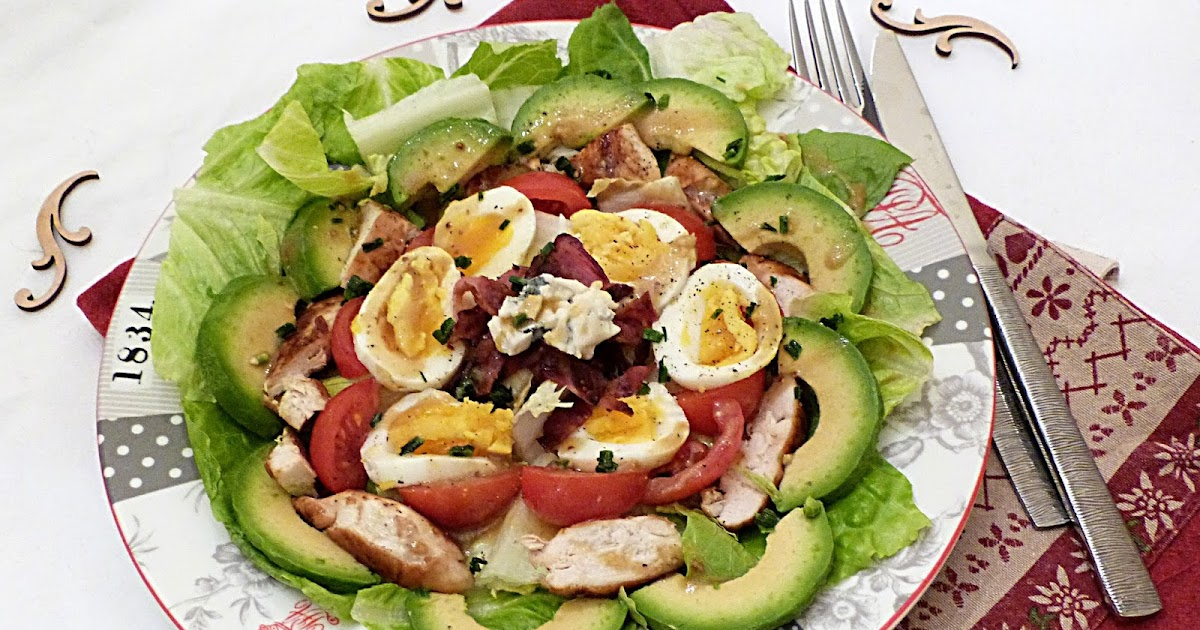 : Cobb salad, un classique Américain si gourmand... / Cobb salad ...