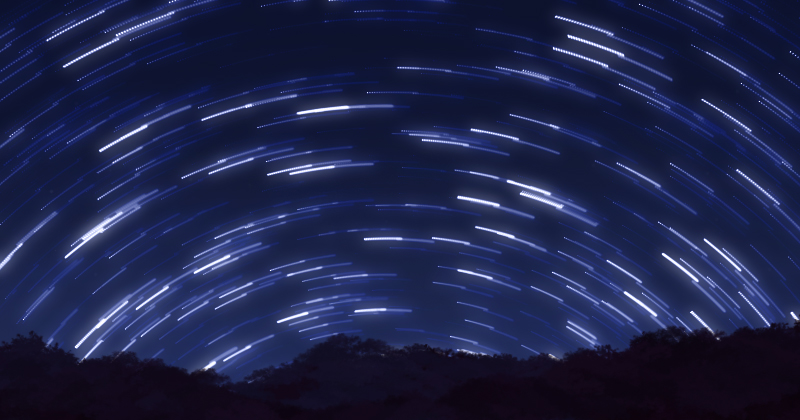 photoshop star trail tutorial