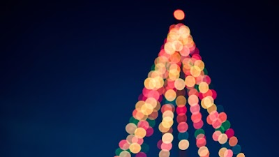 Bokeh of Christmas Tree