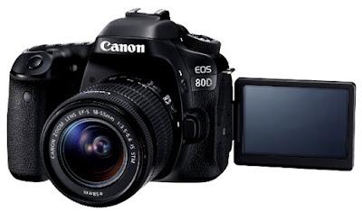Canon EOS 80D Review Specs