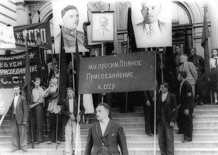 Радянська окупація країн Балтії