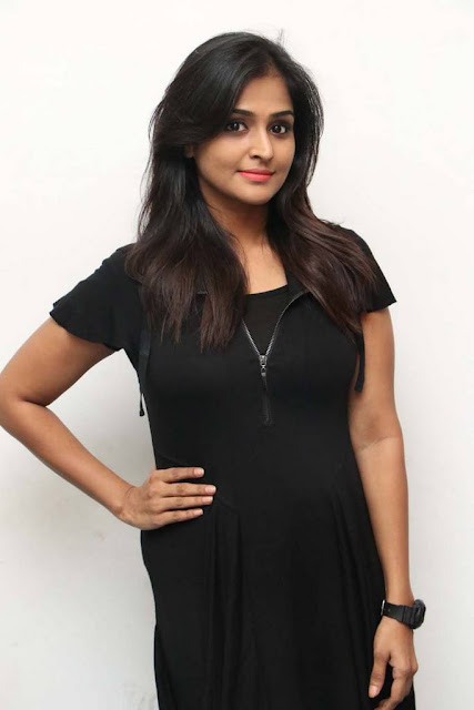 Remya Nambeesan Stills At Sathya Movie Press Meet