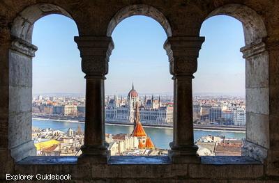 Fisherman's Bastion tempat wisata terkenal di Budapest Hongaria Hungaria Hungary Eropa