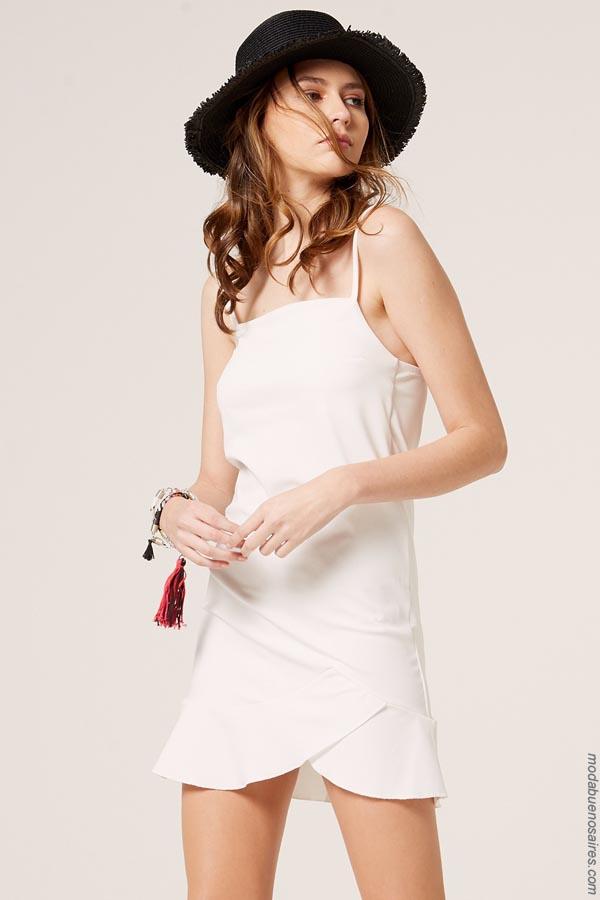 Moda 2019 │ Vestidos primavera verano 2019 │Materia colección primavera verano 2019. Ropa de mujer 2019.
