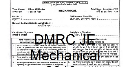 Pdf Dmrc Je Mechanical 2013 Paper Erforum
