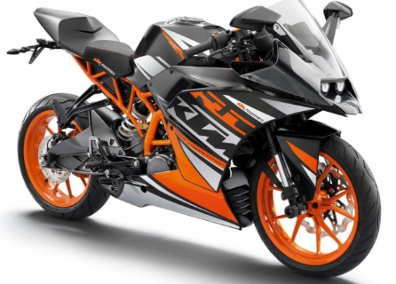 KTM RC 125 will soon be available in india