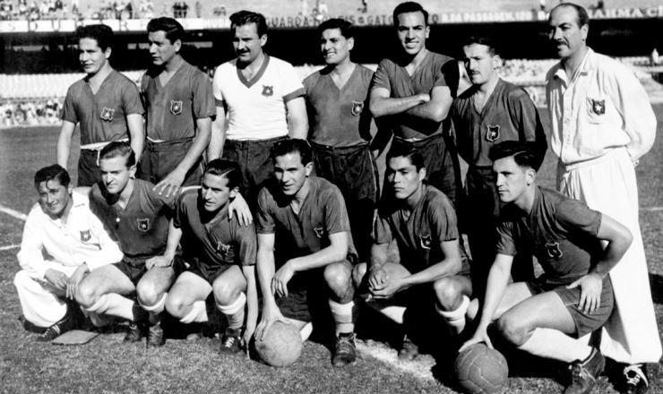 Formación de Chile ante España, Copa del Mundo Brasil 1950, 29 de junio