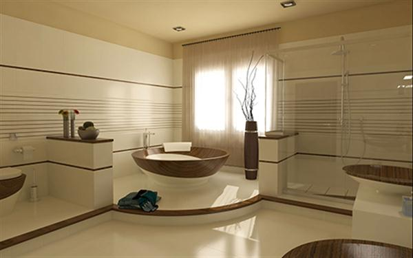 Contemporary and stylish Wooden Bathroom Design by Flora   Home     Here are a new design ideas that may inspiring your to make your best  bathroom ever  A contemporary and stylish wooden bathroom design ideas