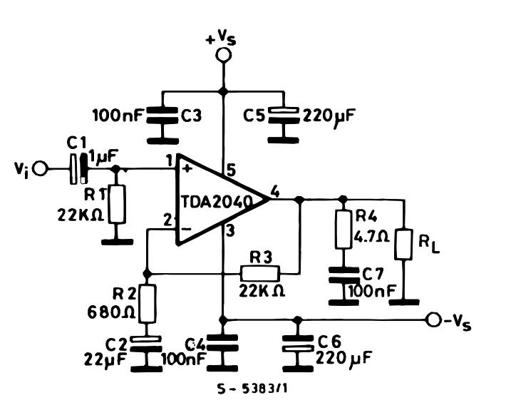 20W Hi Fi AUDIO POWER AMPLIFIER ~ Wiring File Archive
