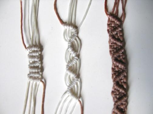 Ecocrafta Macrame Basic Knots And Pattern