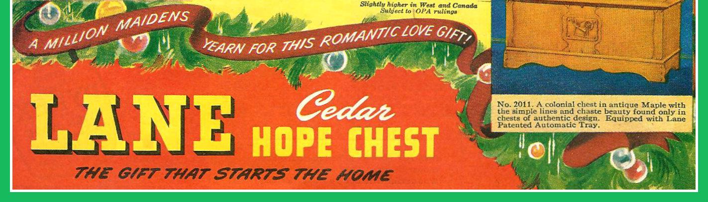 Dating lane cedar chest 4