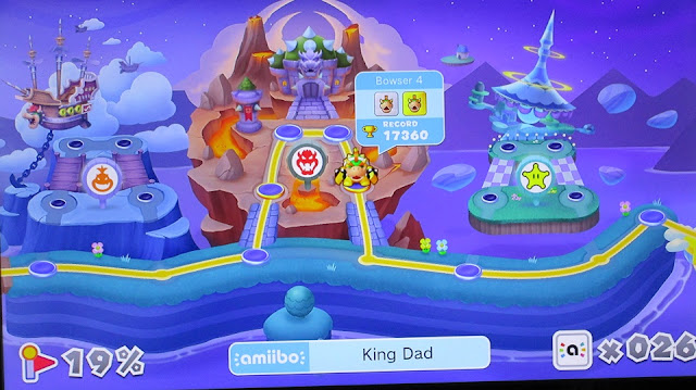 Fire Ride Fortress Bowser amiibo special levels Mini Mario Friends Challenge Wii U