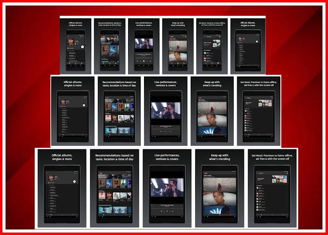 YouTube से New Music Streaming Service