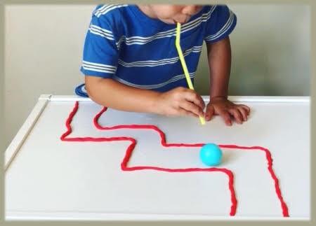 Actividades para Educación Infantil: Juego con soplo para mejorar ...