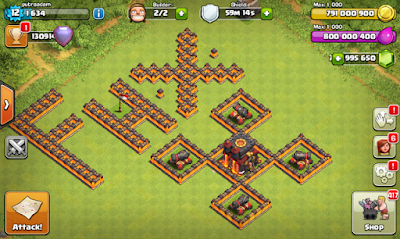 Clash of Clans MOD FHx V7 Private Server Indonesia September 2015-screenshot