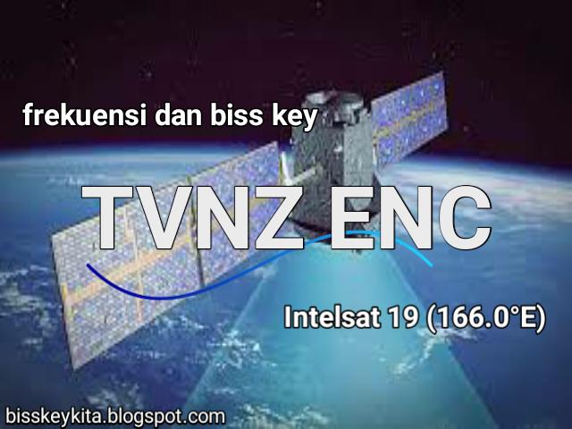 Frekuensi dan Bisskey TVNZ ENC2 di Satellit Intelsat 19